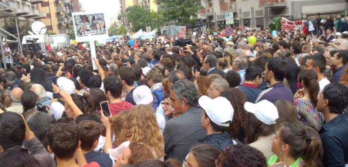 Manifestazioni a Palermo per il XXV anniversario della strage di Capaci
