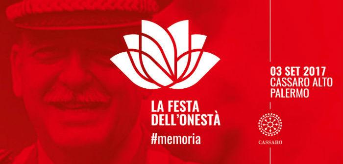 'La Festa dell'onestà – Palermo, 3 settembre 2017