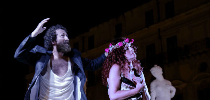"""Con """"Il Trionfo di Rosalia"""" Salvo Piparo e Costanza Licata inaugurano a Villa Filippina l'estate del Teatro Biondo di Palermo"""