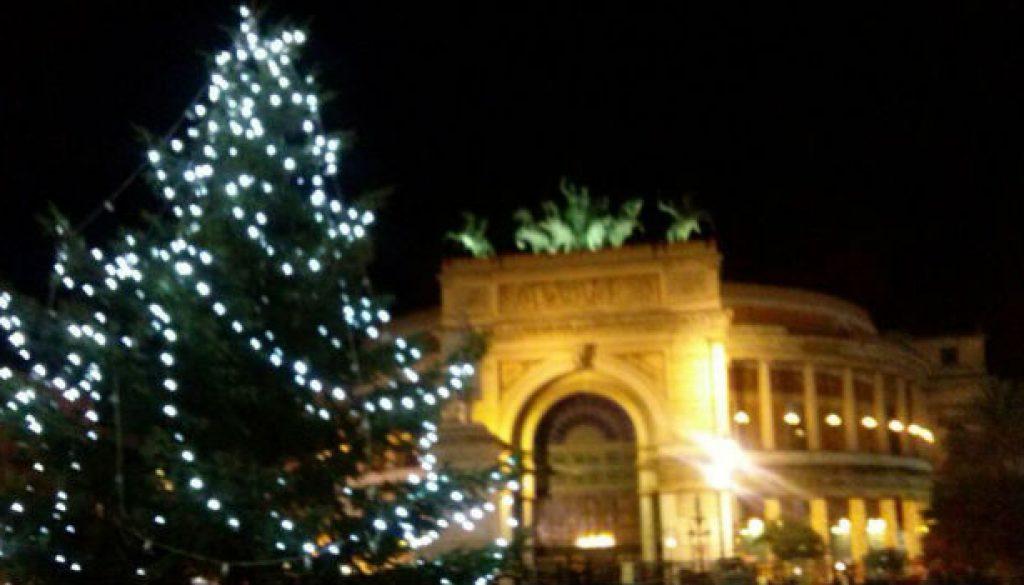 Albero di Natale al Politeama - foto Rosaura Bonfardino