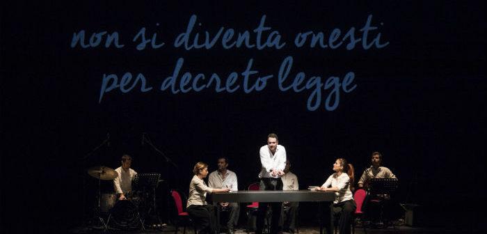 Al Teatro Biondo vanno in scena la geografia della mafia e l'impegno di chi si oppone alla sua cultura di morte