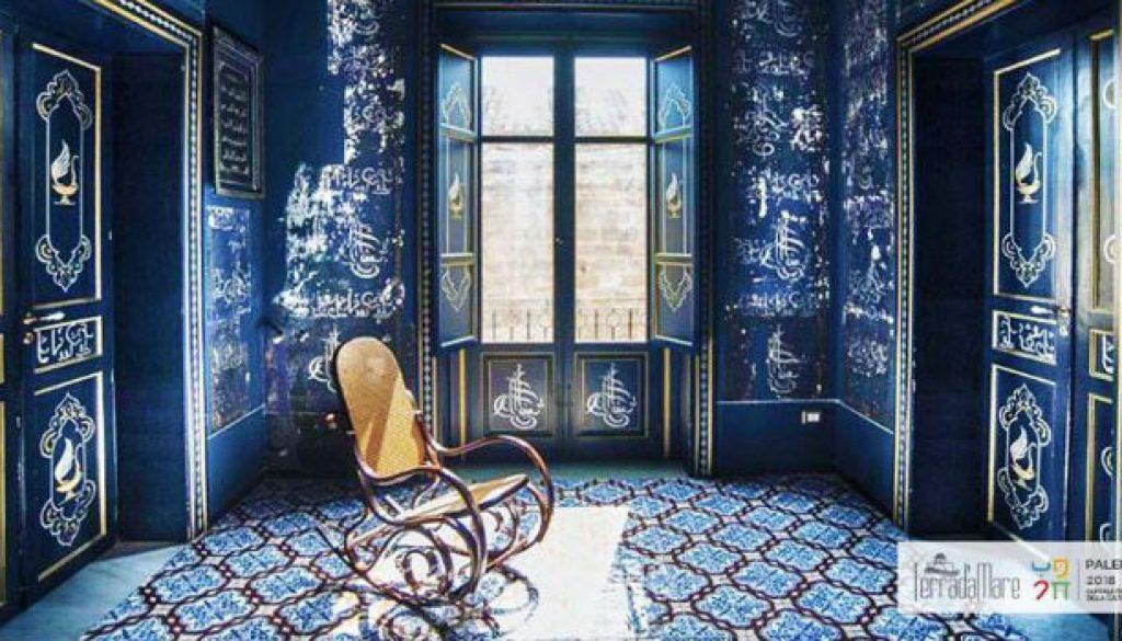notte blu Camera delle meraviglie (1)