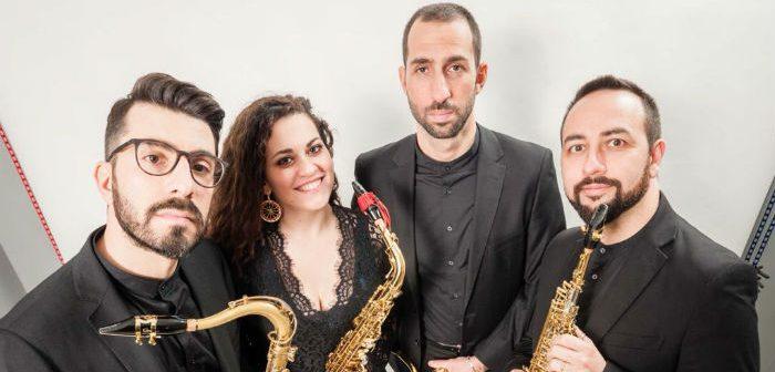 Triskeles Saxophone Quartet a Castelbuono