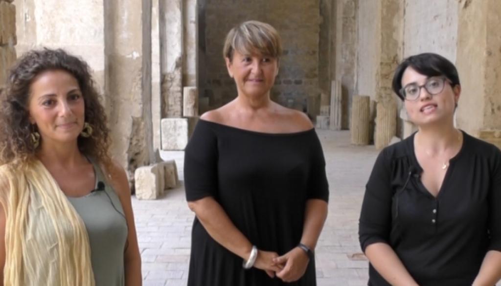 Ninna Sud - da sx Emanuela Fai, Tiziana Palma e Virginia Maiorana-1