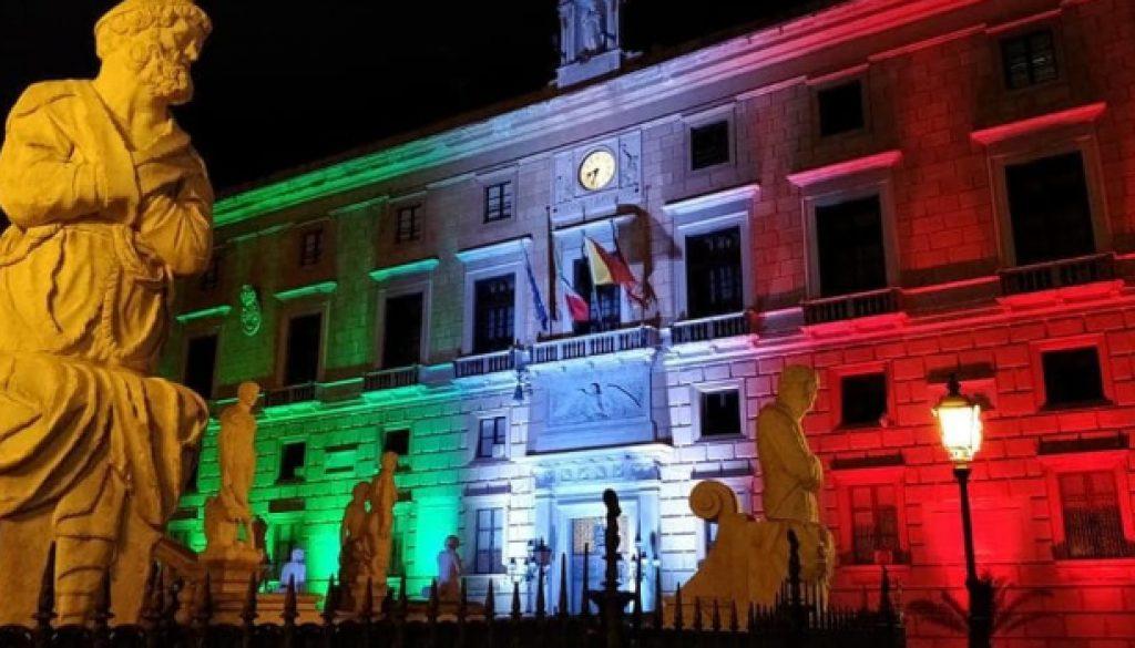 Palazzo della Aquile tricolore