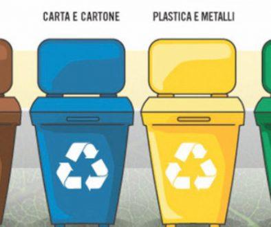 rifiuti differenziati