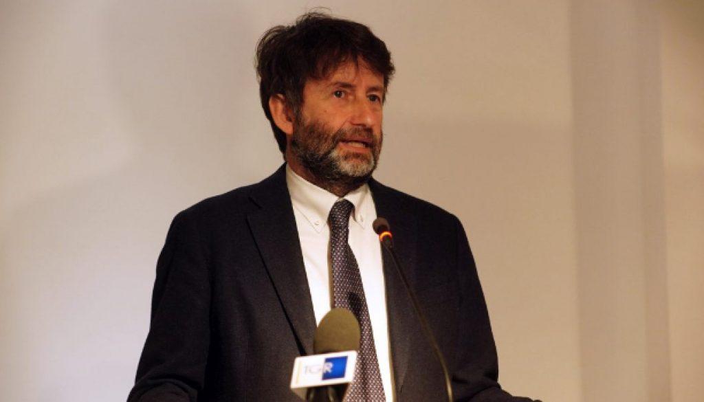 DARIO FRANCESCHINI MINISTRO BENI CULTURALI