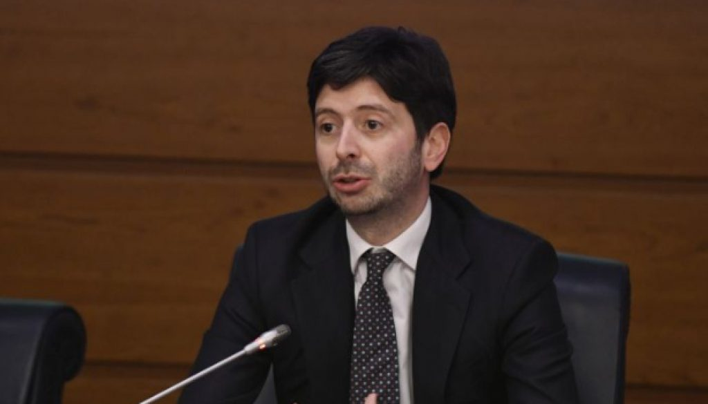 ROBERTO SPERANZA, MINISTRO DELLA SALUTE