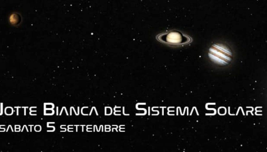Notte Bianca Del Sistema Solare Al Planetario Di Villa Filippina Quattrocanti It